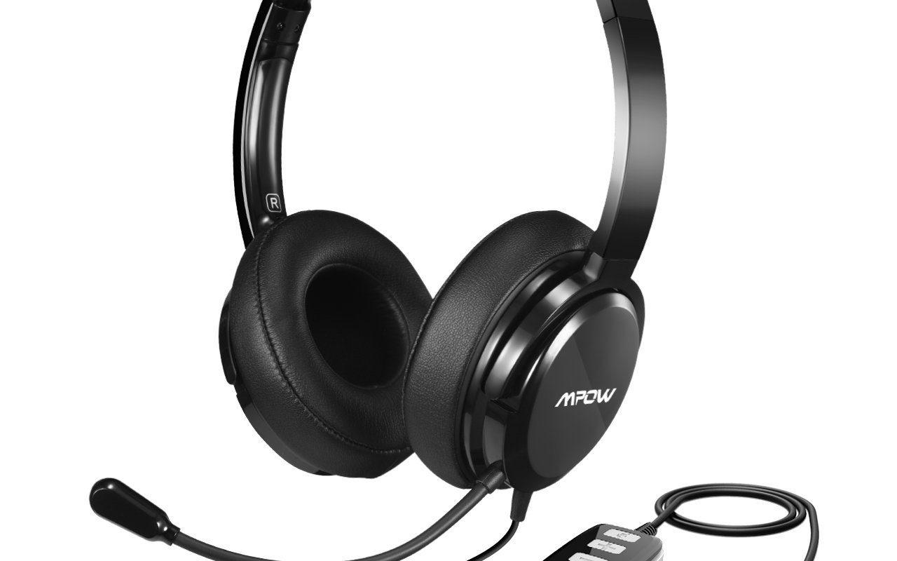MPOW USB Skype headsetq