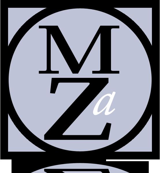 MZA Artists logo